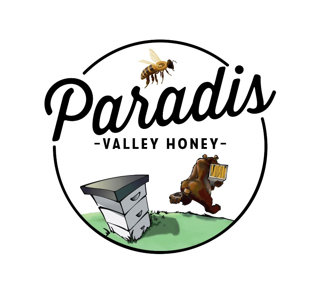 Paradis Valley Honey Logo